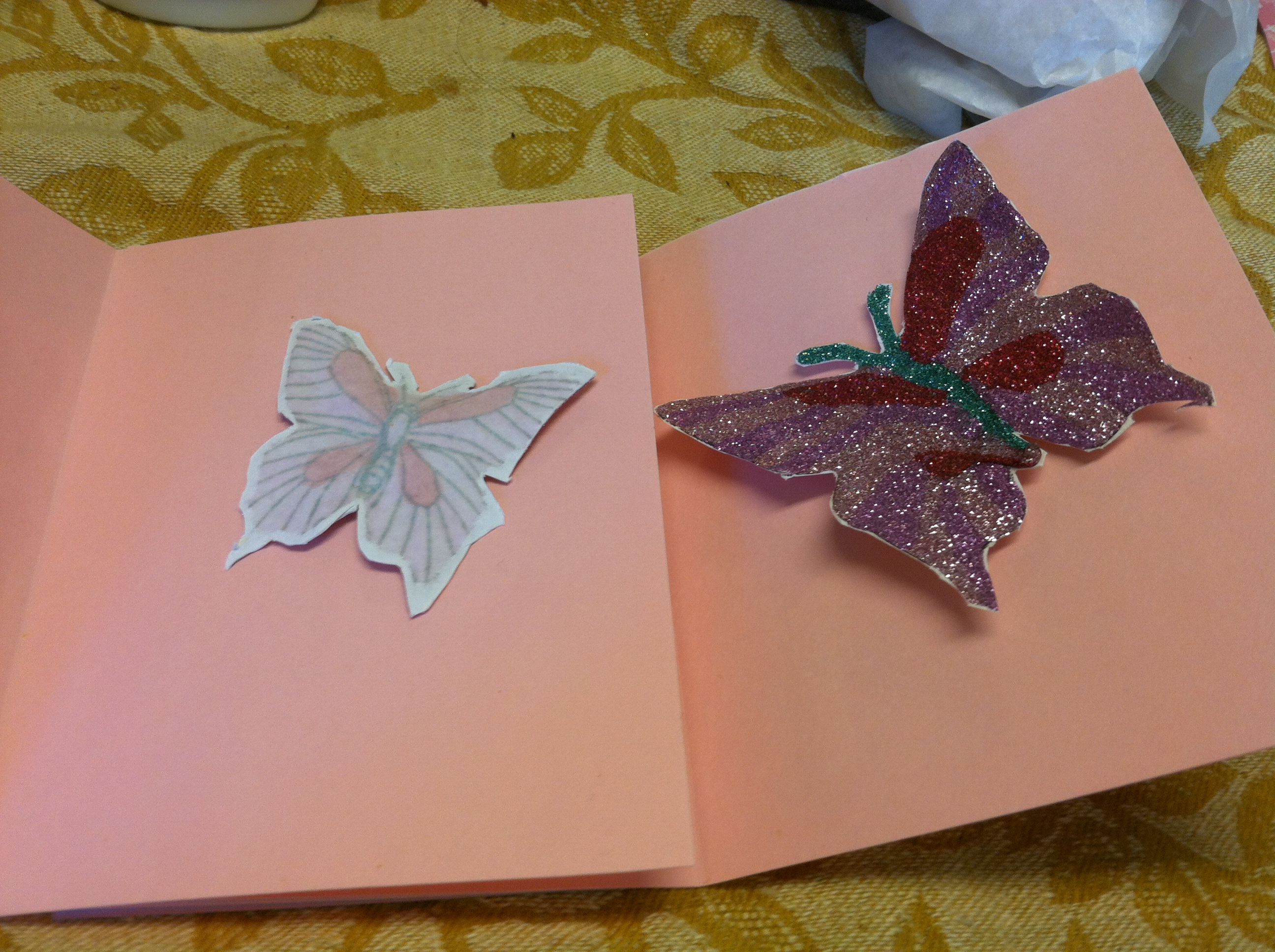 Picture of Butterfly Baby Shower Cards