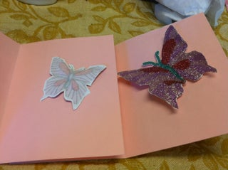 Butterfly Baby Shower Cards