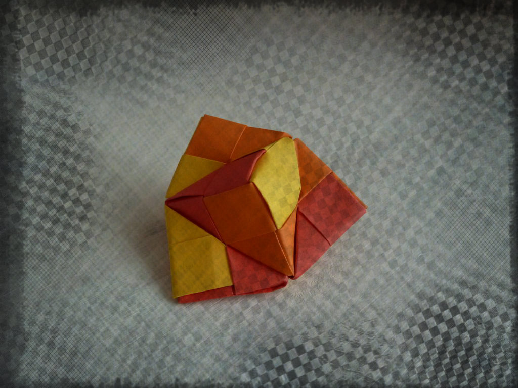 Picture of Origami Spinning Top