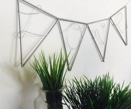 Elegant Wire Banner