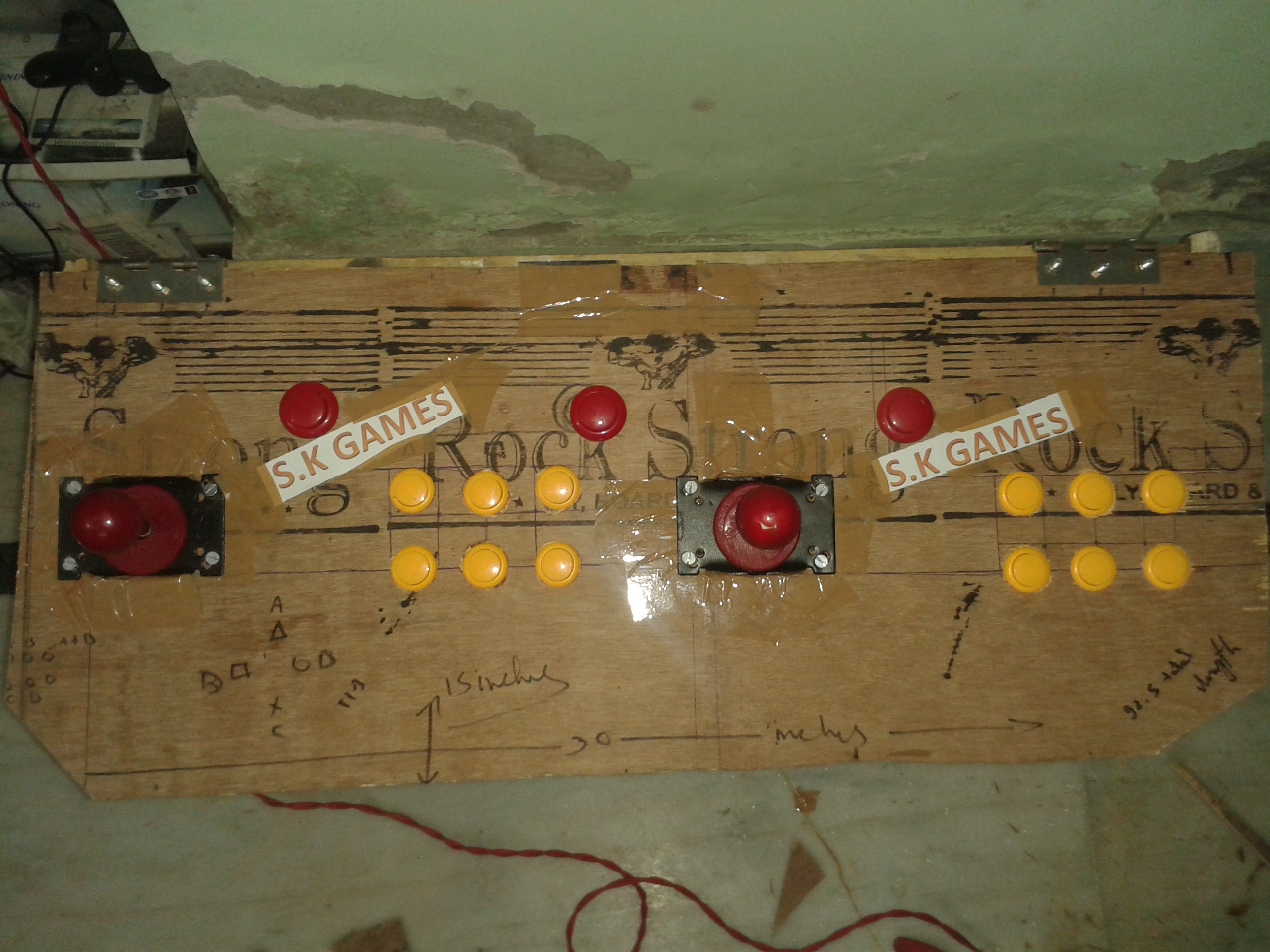 Picture of Handmade Arcade Stick