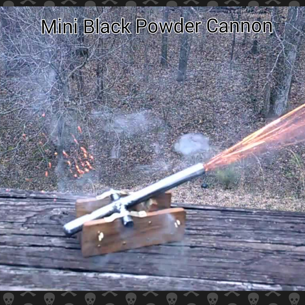 Black Powder Cannon: 5 Steps