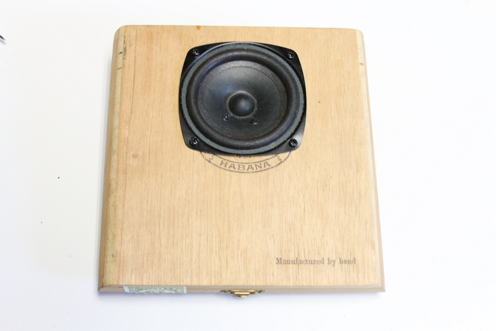 Picture of Adding the Speaker