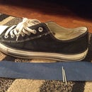 How to make Converse All-Stars look Old and Faded