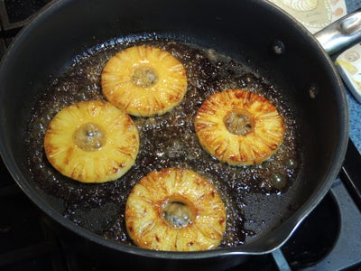 Caramelize the Pineapple