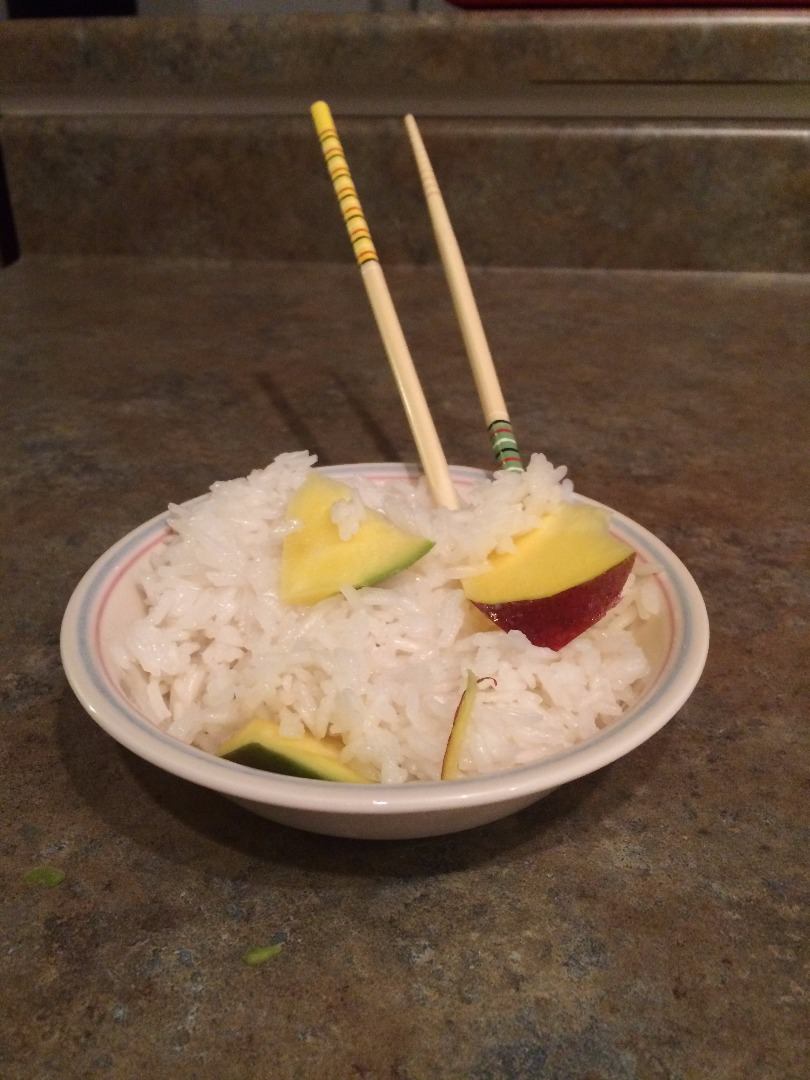 Picture of Coconut Sticky Rice With Mango