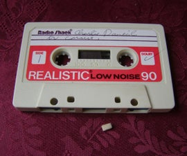 How to Replace a Missing Pressure Pad on a Cassette Tape