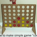 Connect 4, Simple DIY From Cardboard