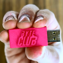 3D Printed BYTE CLUB Flash Drive