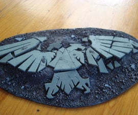Warhammer 40K Terrain: Cracked Aquila