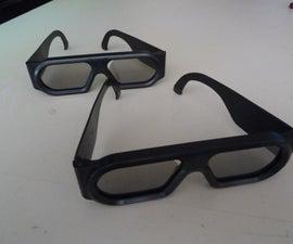 Anti-3D Glasses