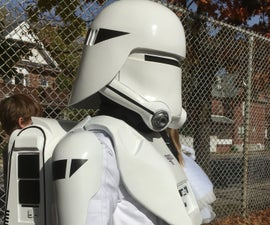 Child Sized First Order Snowtrooper Costume