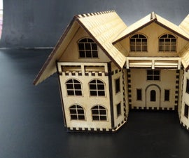 A Storage Box in the Shape of a House