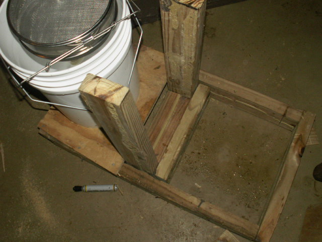 Picture of Step Two: Build the Vertical Support