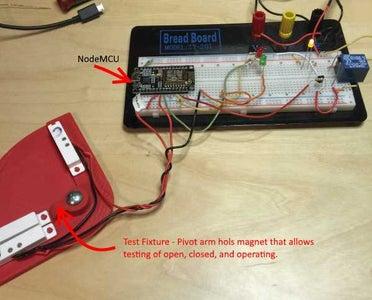 NodeMCU (ESP8266) Firmware and Testing