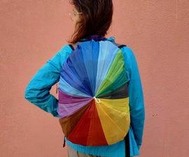 Rainbow Backpack Rain-cover