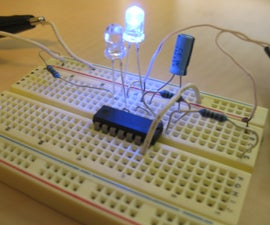 How to make an alternating LED flasher