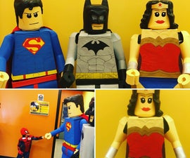 How to Make a Lego: Superhero Costume