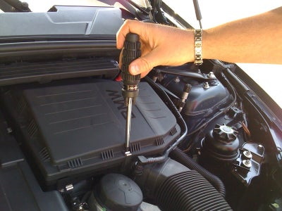 Remove Clips on the Air Box