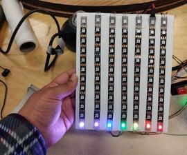 7 Band Led Audio Visualizer