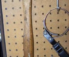 Custom Pegboard Tool Hangers