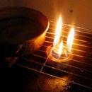 Alcohol stove burner