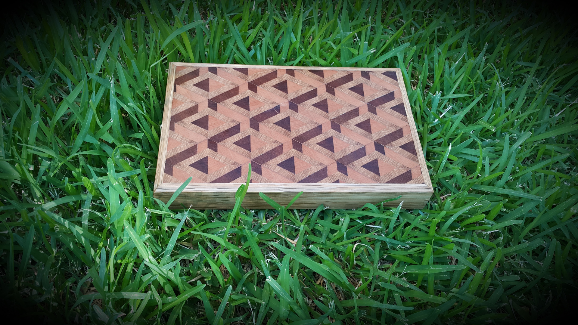 Picture of 3D End Grain Cutting Board