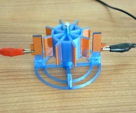 Electrostatic Motor