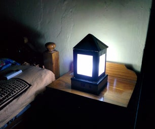 CARDBOARD SOLAR LAMP