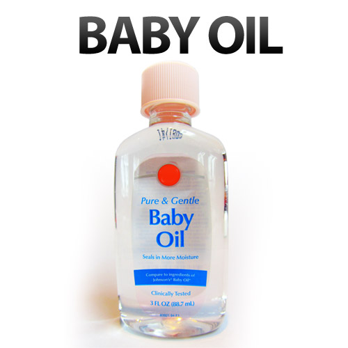 11 Unusual Uses for Baby Oil
