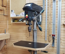Homemade Vertical Drill Press Clamp