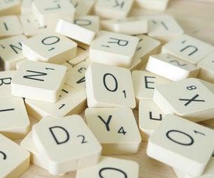 Scrabble Fridge Magnets