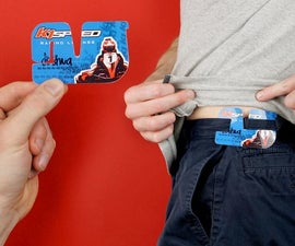 Tug Belt - a Minimalist Belt That Fits in Your Wallet