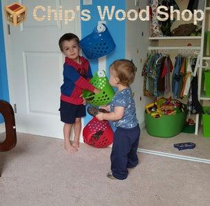 Kid-Safe Wall-Mounted Hooks