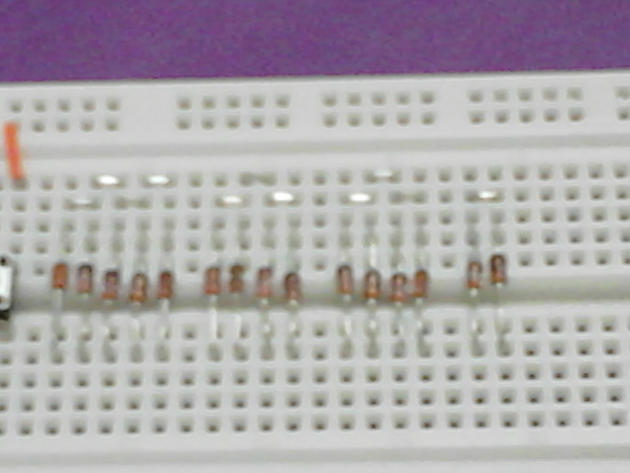 Picture of Installing the Diodes