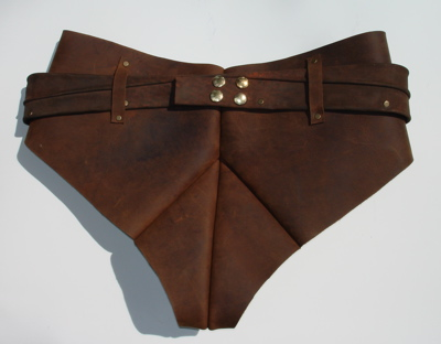 Picture of The Legendary Leather Bannana Sling