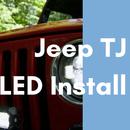 Jeep LED Light Installation