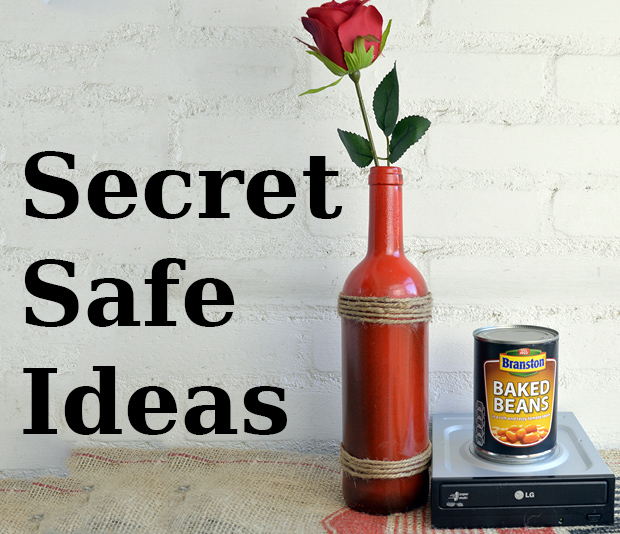 Picture of 3 Ways to Make a Secret Safe