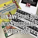 Turn any Book into a Recordable Story Book - (with video)