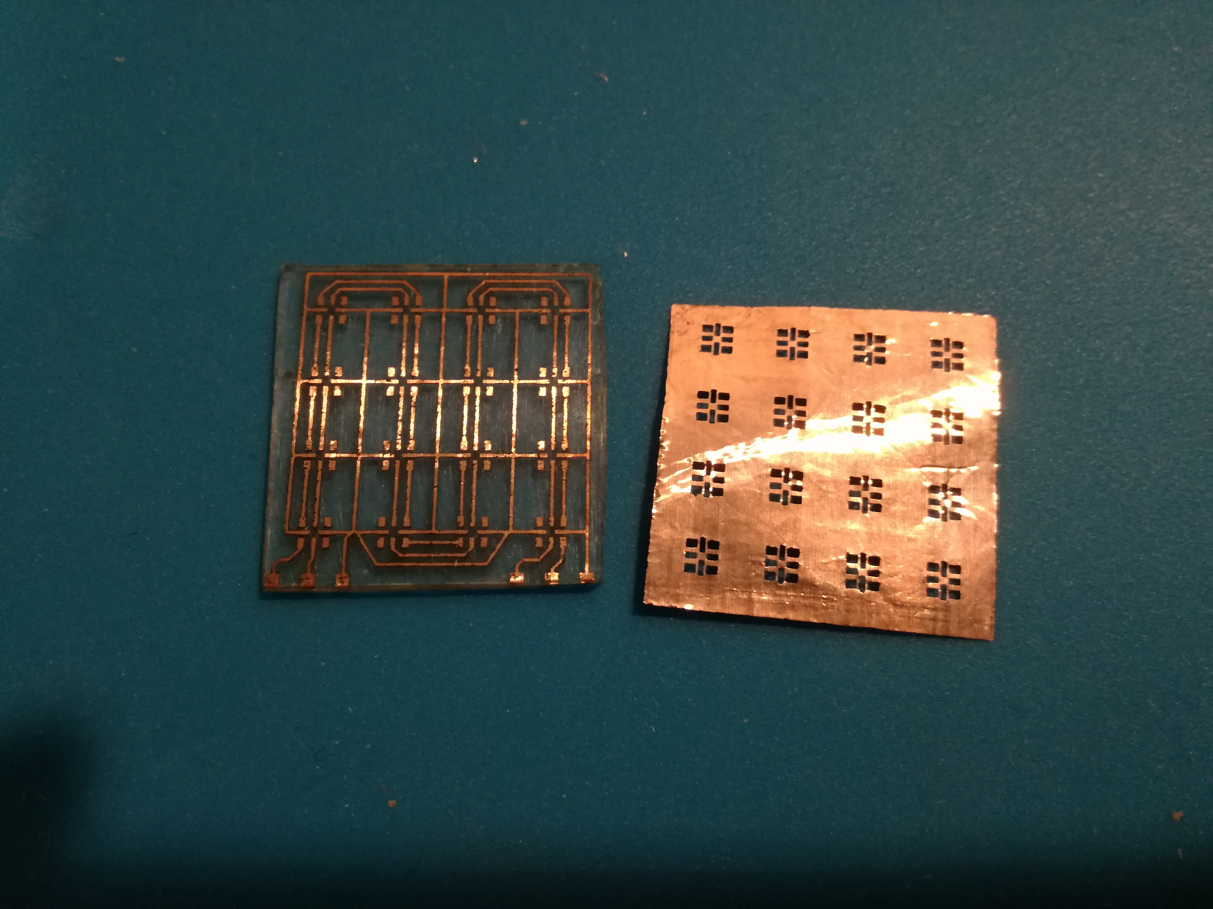 Picture of Etching the Copper