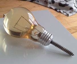 THE ULTIMATE LIGHT BULB WALL HOOK