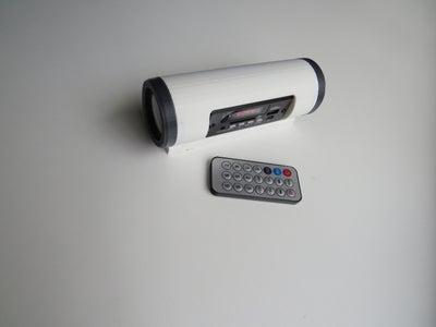 3D Printed Bluetooth Speaker Tube I