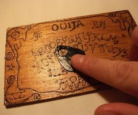 Pyro-engraved Ouija Board