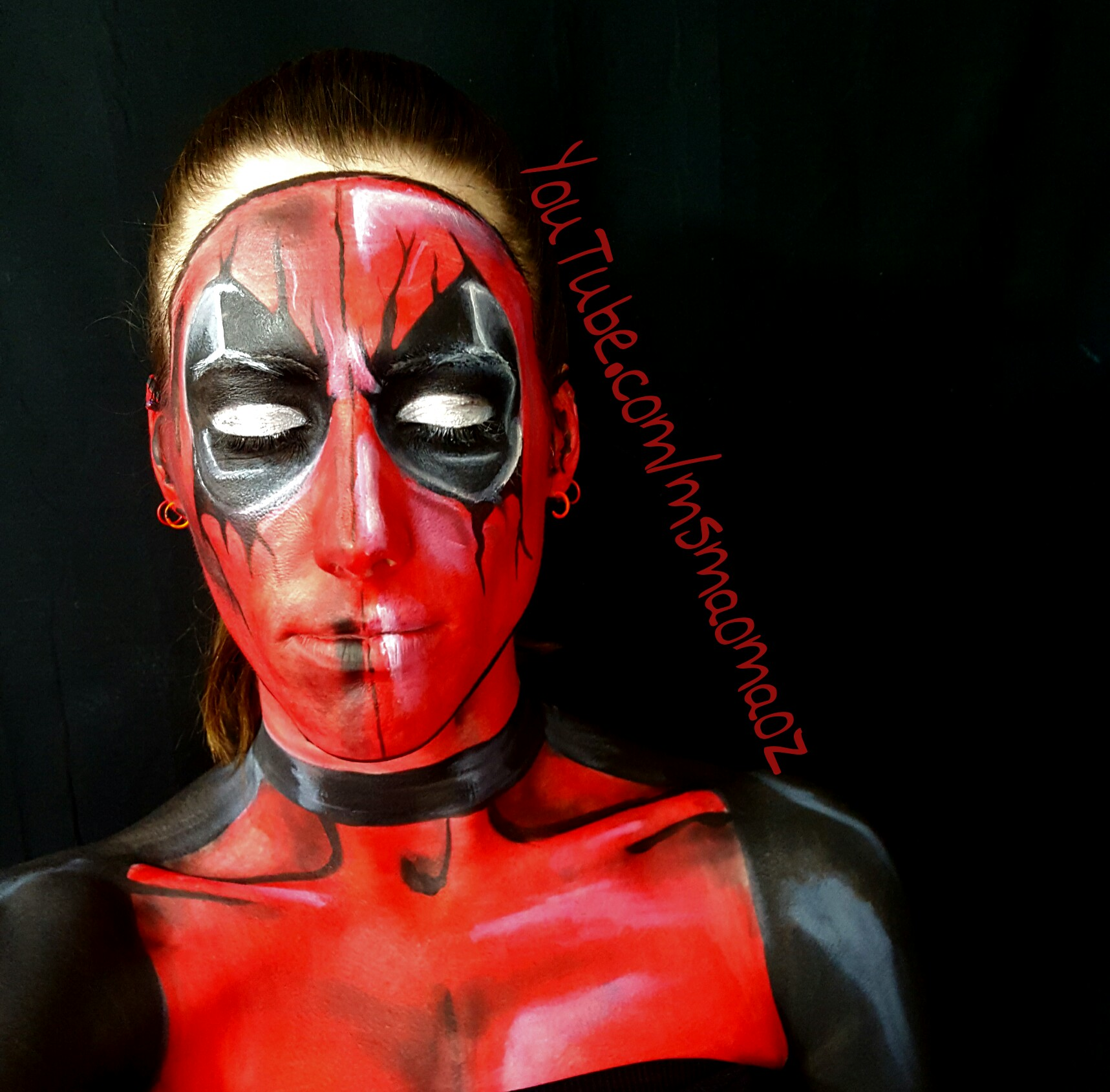 Picture of Dead Pool Makeup