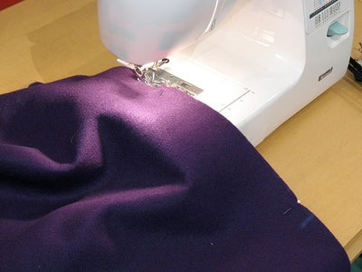 Sew Each of the Pinned Edges (3)