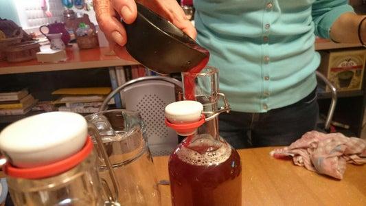 Bottle the Finished Kombucha