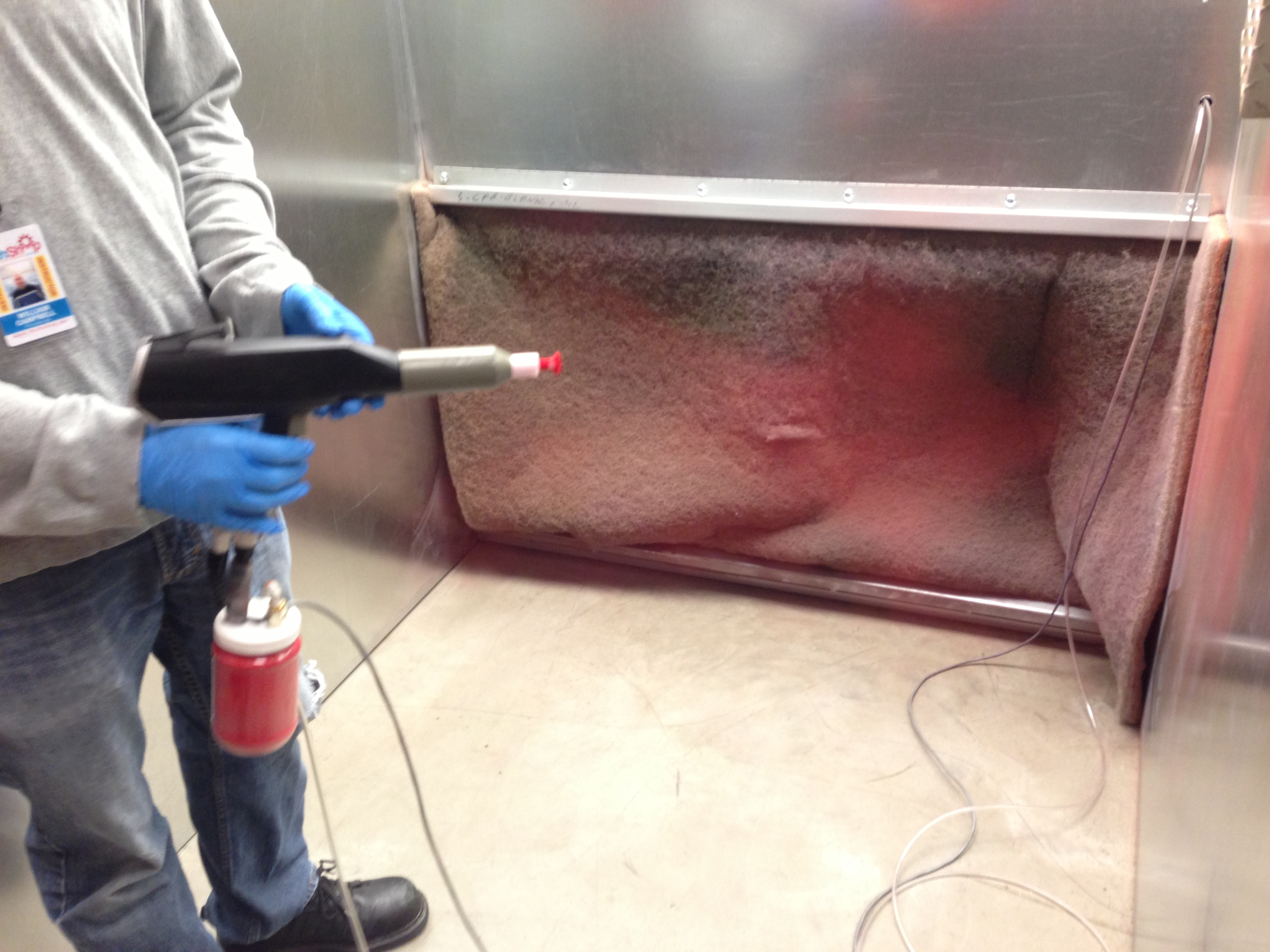 Picture of Powder Coating: Test the Gun