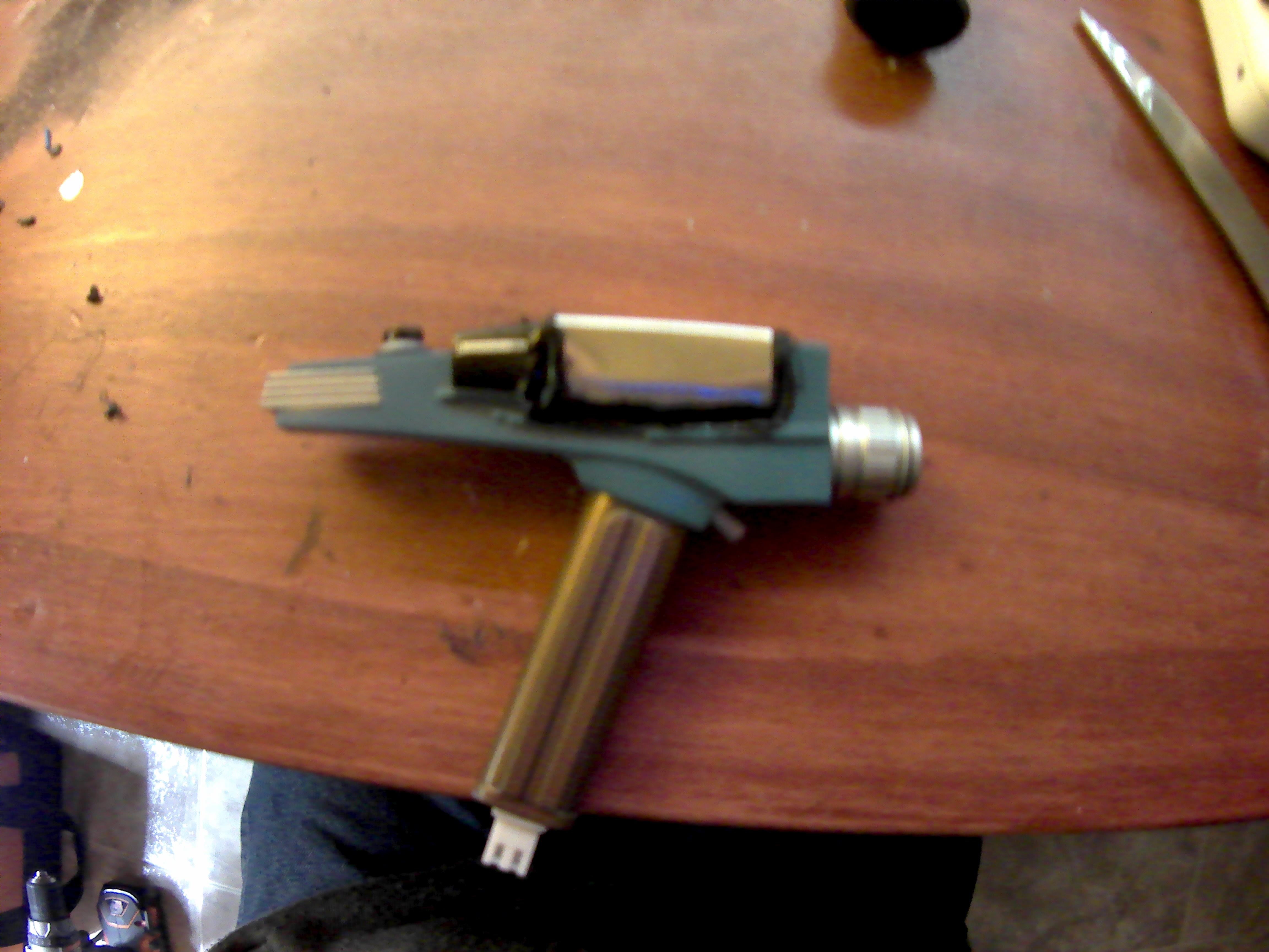 Picture of From a Pocket Phaser to a Pocket Laser