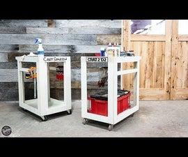 DIY Mobile Shop Cart & Free Plan