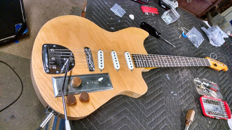 Picture of Make a Guitar From a Hollow Core Door